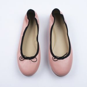 JCREW Evie Ballet Flats Slip On Shoes Iced Peach